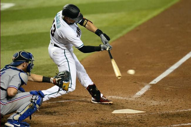 Arizona Diamondbacks vs. Texas Rangers - 9/23/20 MLB Pick, Odds, and Prediction
