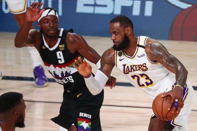 Denver Nuggets vs. Los Angeles Lakers - 9/24/20 NBA Pick, Odds, and Prediction