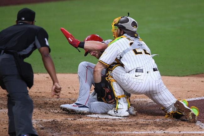 Dana Lane's Los Angeles Angels vs San Diego Padres MLB 'Table Setter'
