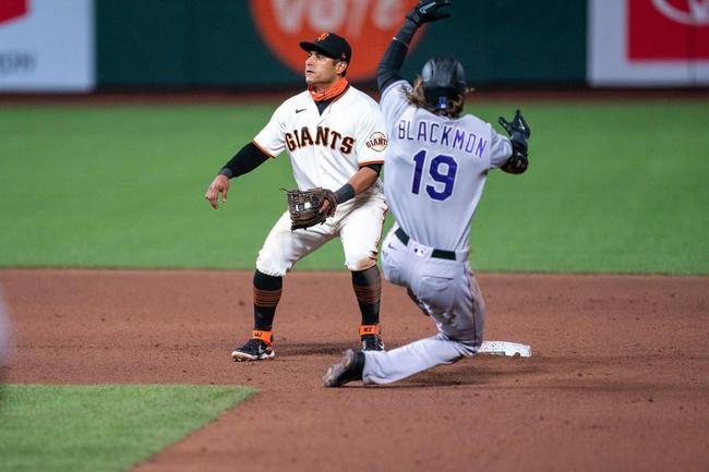 Colorado Rockies at San Francisco Giants - 9/23/20 MLB Picks and Prediction