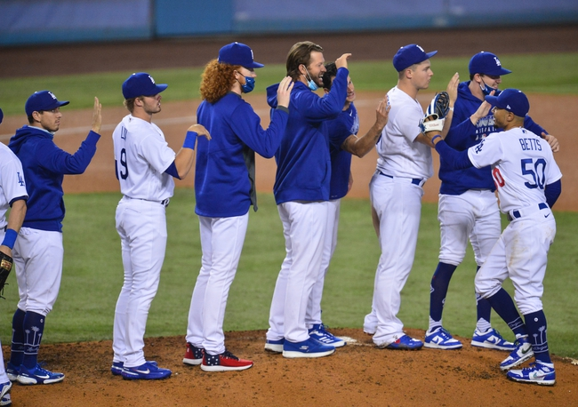 Oakland Athletics at Los Angeles Dodgers - 9/24/20 MLB Picks and Prediction