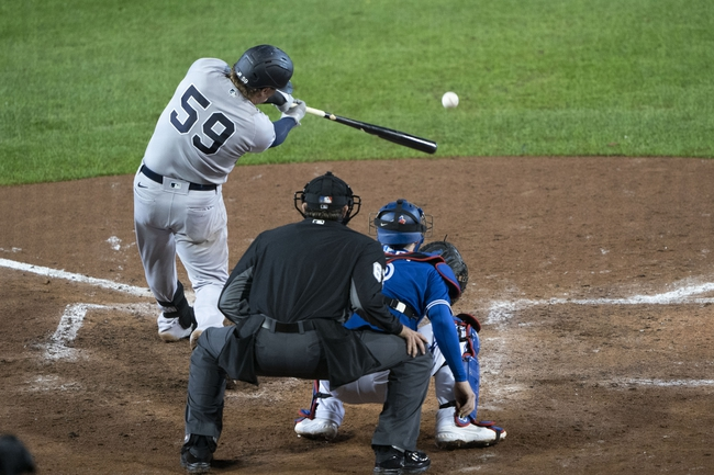 Toronto Blue Jays vs. New York Yankees - 9/24/20 MLB Pick, Odds, and Prediction