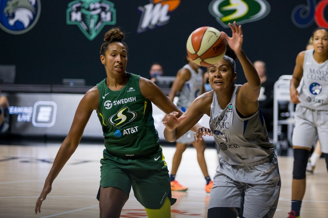 Seattle Storm vs. Minnesota Lynx WNBA Picks, Odds, and Prediction 9/27/20