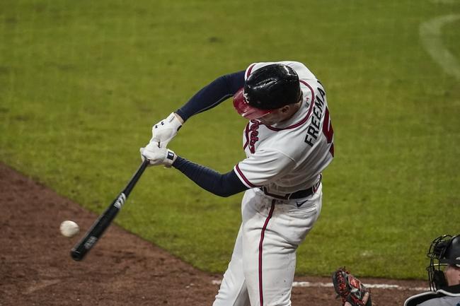 Dana Lane's Miami Marlins vs. Atlanta Braves MLB 'Table Setter'