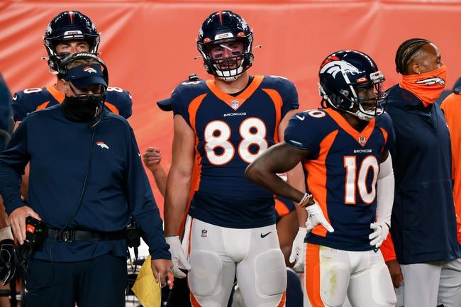 Tampa Bay Buccaneers at Denver Broncos NFL Pick, Odds, and Prediction 9/27/20