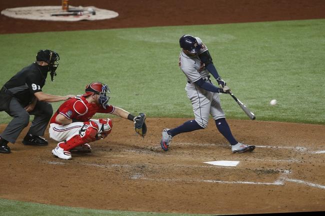 Houston Astros at Texas Rangers 9/26/20 MLB Picks and Prediction