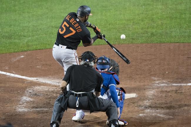 Toronto Blue Jays vs. Baltimore Orioles - 9/26/20 MLB Pick, Odds, and Prediction
