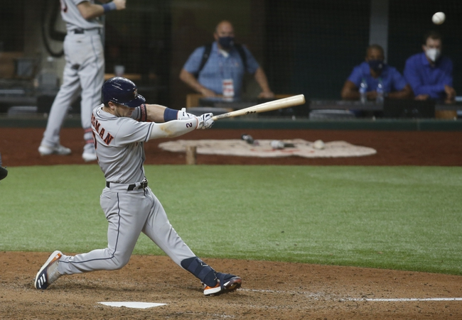 Texas Rangers vs. Houston Astros - 9/26/20 MLB Pick, Odds, and Prediction