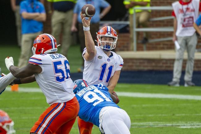 Expert Picks: South Carolina at Florida: 10/3/20 College Football Picks and Predictions