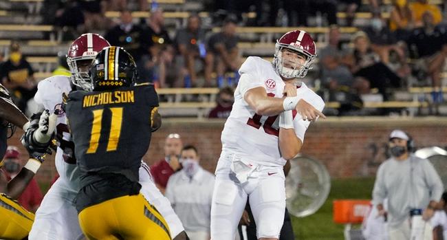 SEC Picks: Alabama vs. Texas A&M College Football Picks, Predictions, Odds 10/3/20
