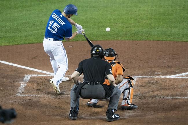 Baltimore Orioles at Toronto Blue Jays: MLB Picks and Prediction 9/27/20