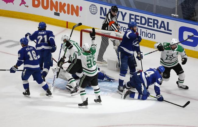 Tampa Bay Lightning at Dallas Stars NHL Picks and Prediction 9/28/20
