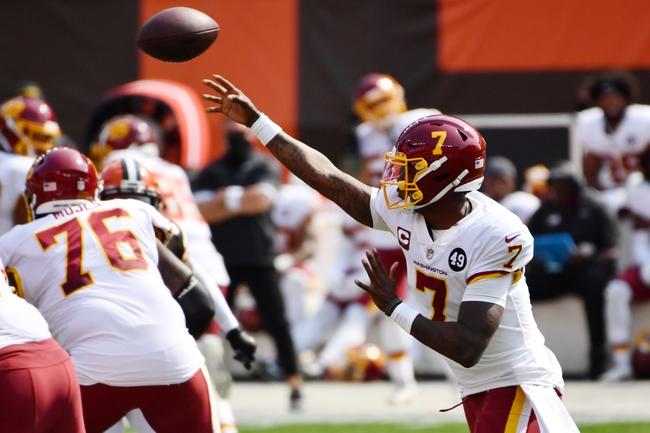 Baltimore Ravens at Washington Football Team NFL Picks, Odds, Predictions 10/4/20