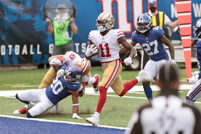 Philadelphia Eagles at San Francisco 49ers NFL Picks, Odds, Predictions 10/4/20