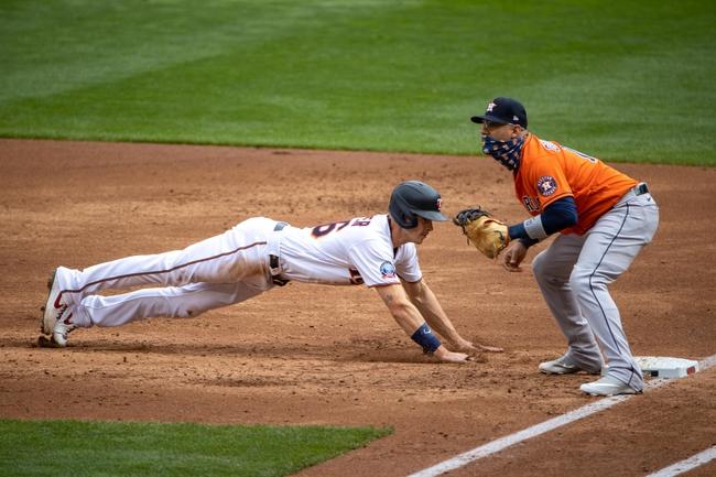 Houston Astros at Minnesota Twins 9/30/20 MLB Wild Card Picks and Prediction