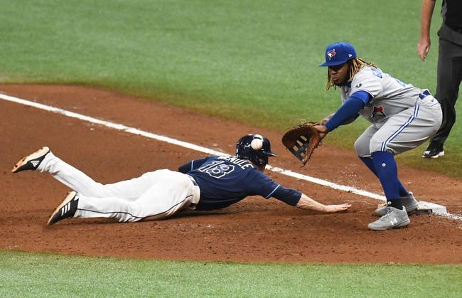 MLB Picks: Tampa Bay Rays vs. Toronto Blue Jays Wild Card 9/30/20