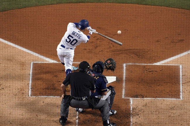 MLB Picks: Los Angeles Dodgers vs. Milwaukee Brewers Wild Card 10/1/20