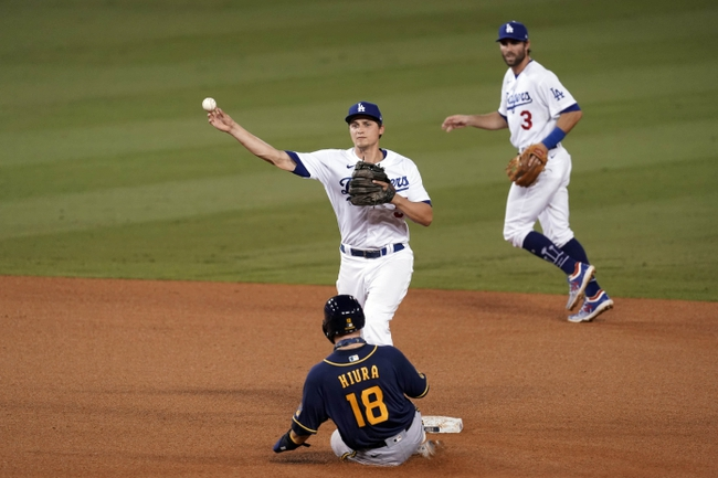 Tony T's Brewers at Dodgers MLB TOTAL 10-1-2020
