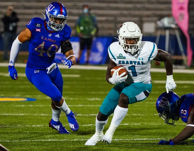 Prediction: Texas State vs Coastal Carolina 11/28/20  College Football Picks, Odds