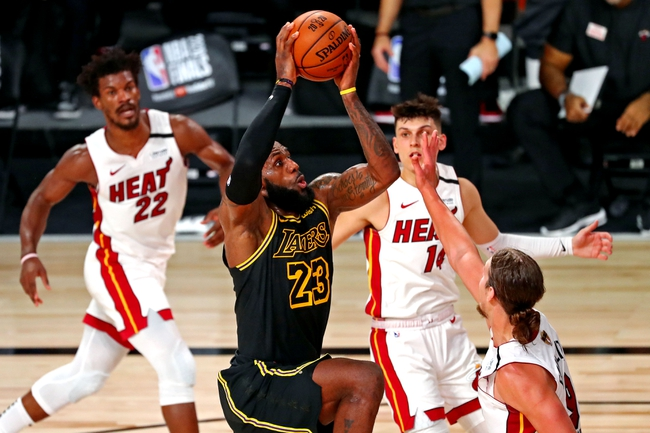 Game 3: Miami Heat vs Los Angeles Lakers NBA Finals Picks, Odds, Predictions 10/4/20