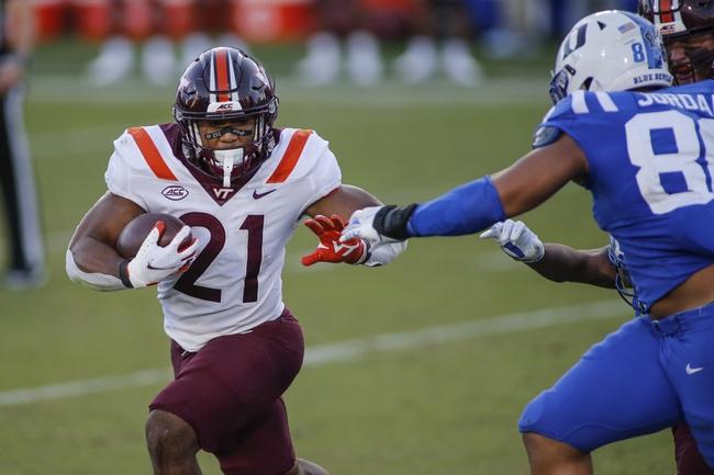 Virginia Tech at North Carolina: 10/10/20 College Football Picks and Prediction