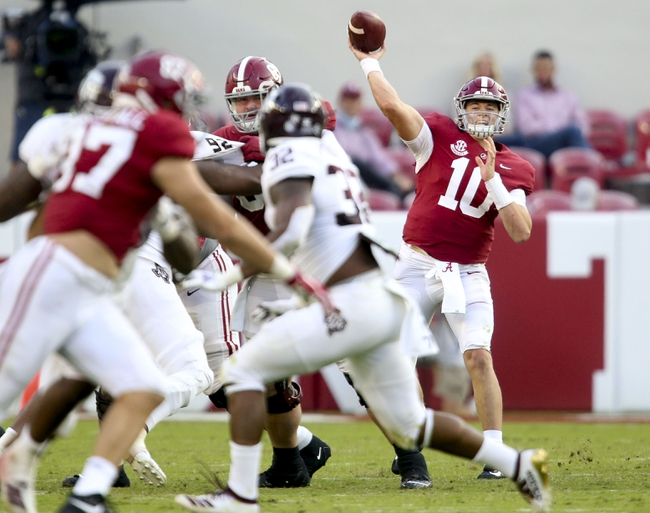 SEC: Ole Miss vs Alabama College Football Picks, Odds, Predictions 10/10/20