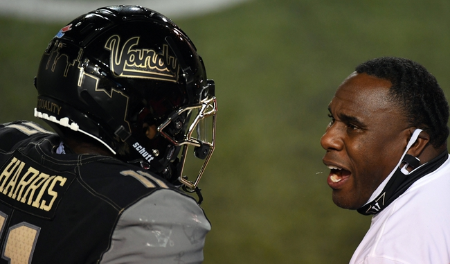 South Carolina at Vanderbilt 10/10/20 College Football Picks and Prediction