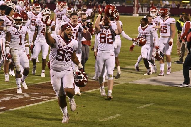 Arkansas at Auburn 10/10/20 College Football Picks and Predictions