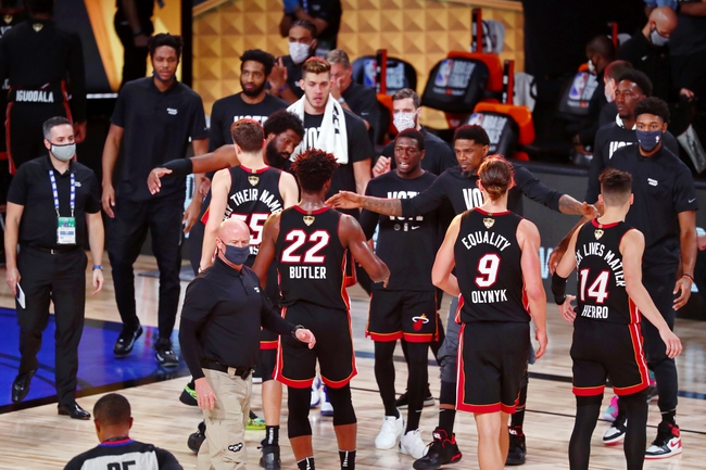 Los Angeles Lakers at Miami Heat NBA Finals Picks and Predictions 10/6/20