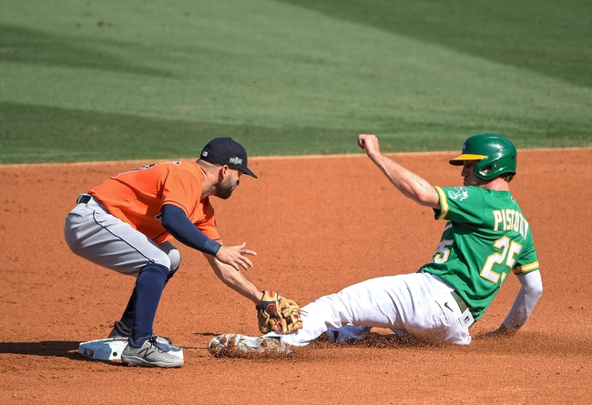 Oakland Athletics at Houston Astros 10/6/20 MLB ALDS Picks and Predictions