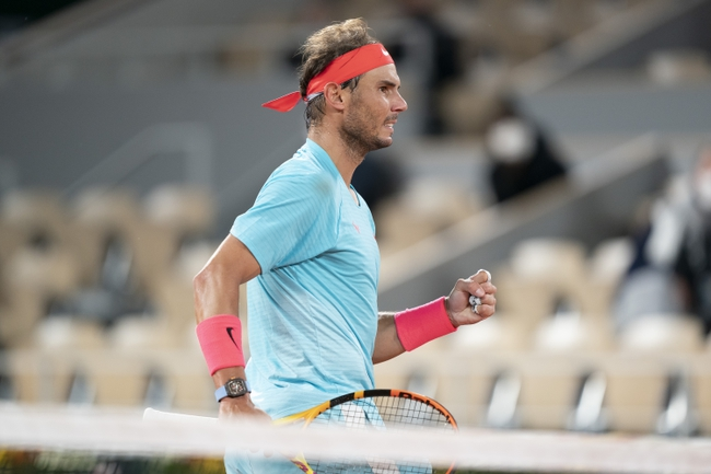 Rafael Nadal vs. Diego Schwartzman French Open Tennis Picks and Predictions 10/9/20