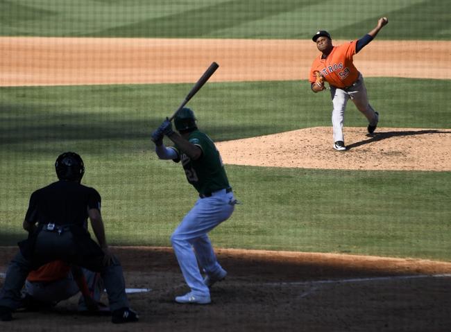 Tony T's Astros vs. Athletics Side 10-6-2020