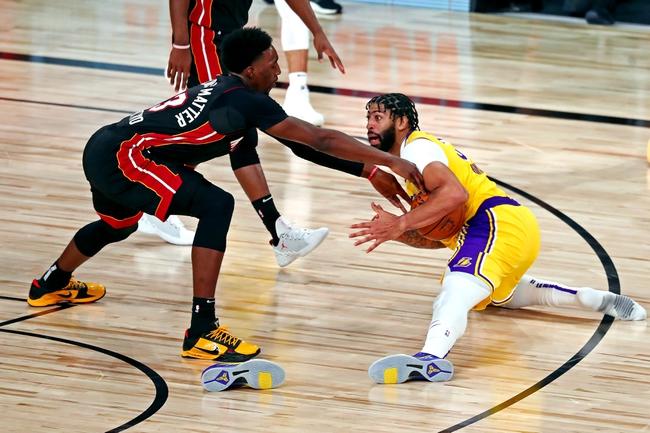 Miami Heat at Los Angeles Lakers NBA Finals Game 5 Picks and Prediction 10/9/20