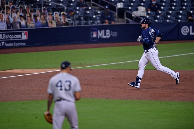 MLB Picks: Tampa Bay Rays vs. New York Yankees ALDS Game 3 10/7/20