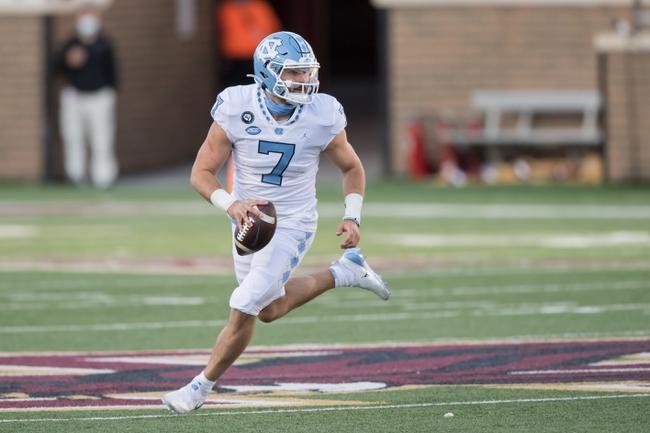 NC State at North Carolina 10/24/20 College Football Picks and Prediction