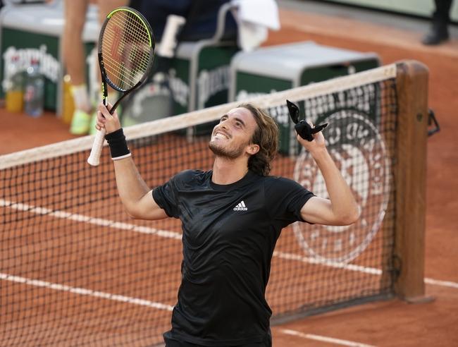 French Open: Novak Djokovic vs. Stefanos Tsitsipas - 10/09/20 Tennis Prediction