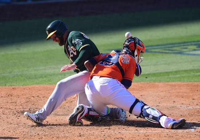 Houston Astros vs Oakland Athletics MLB Picks, Odds, Predictions 10/8/20