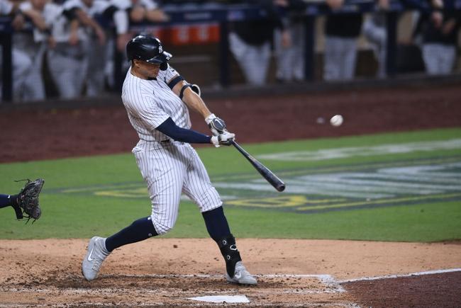 Tony T's Yankees vs. Rays Total 10-8-2020