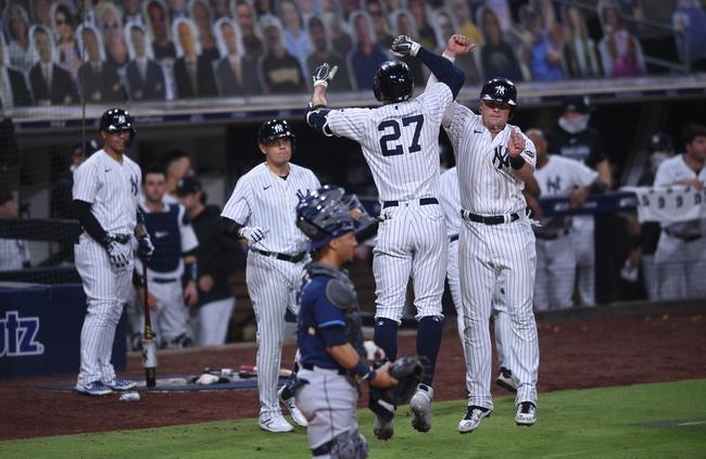 Tampa Bay Rays at New York Yankees 10/8/20 MLB NLDS Picks and Predictions