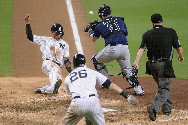 New York Yankees at Tampa Bay Rays 10/9/20 MLB ALDS Picks and Prediction