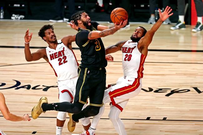 Miami Heat vs Los Angeles Lakers NBA Picks, Odds, Predictions 10/11/20
