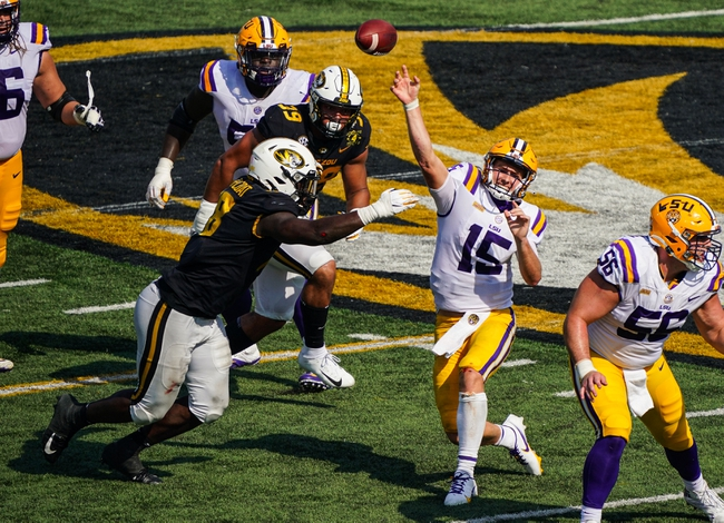 SEC: LSU vs South Carolina 10/24/20 College Football Picks, Odds, Predictions
