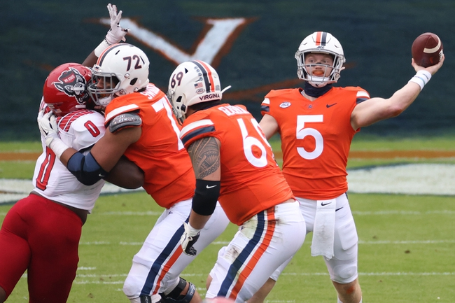 Louisville at Virginia 11/14/20 College Football Picks and Predictions