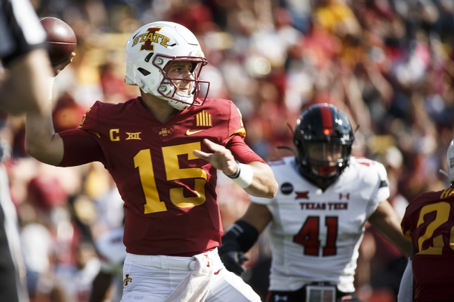 Big 12: Kansas vs Iowa State 10/31/20 College Football Picks, Odds, Predictions