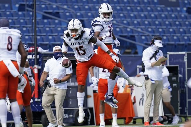 UTSA at Florida Atlantic - 10/31/20 College Football Picks and Prediction