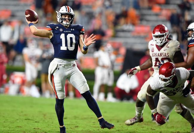 SEC: Ole Miss vs Auburn College Football Picks, Odds, Predictions 10/24/20