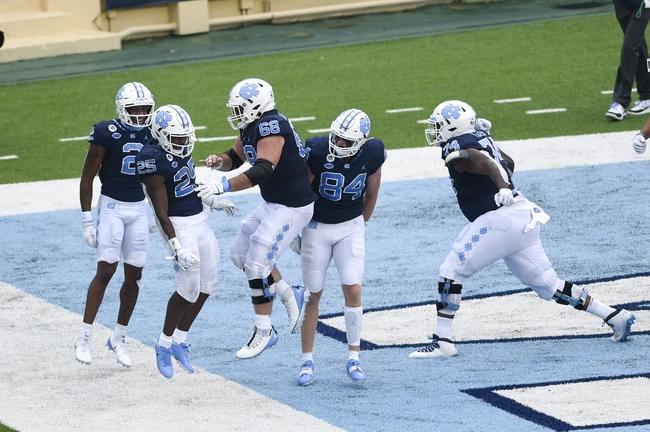 ACC: North Carolina vs NC State College Football Picks, Odds, Predictions 10/24/20