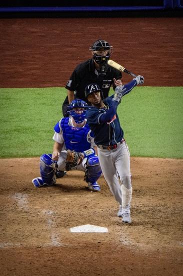 Dana Lane's Atlanta Braves vs. Los Angeles Dodgers 'World Class' Winner