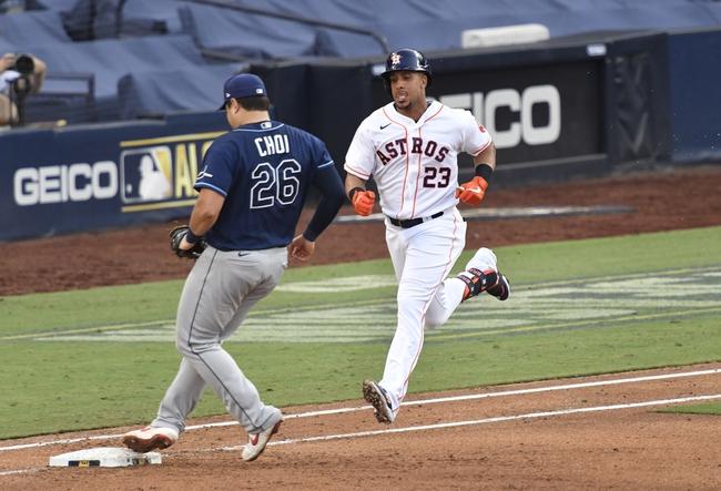 MLB Picks: Houston Astros vs. Tampa Bay Rays ALCS Odds, Predictions 10/16/20