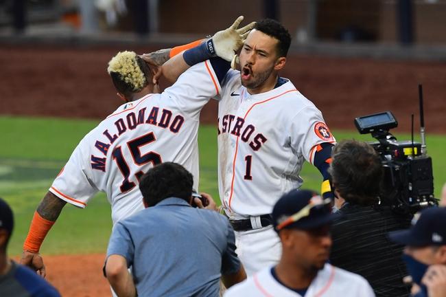 Houston Astros at Tampa Bay Rays 10/16/20 MLB Picks and Predictions